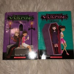 My sisters a vampire books